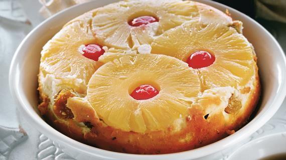 Запеканка творожная с ананасом, пошаговый рецепт с фото