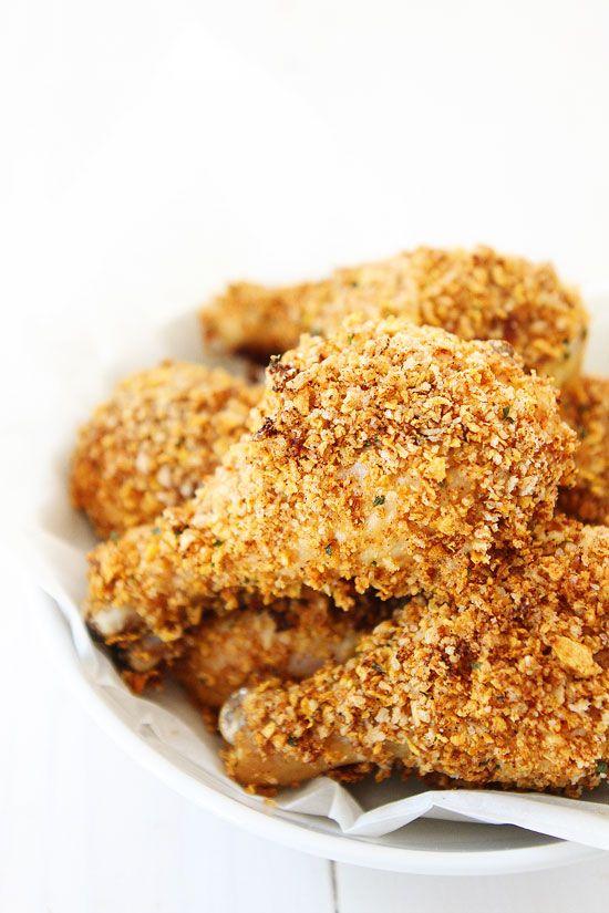 """Buttermilk Oven """"Fried"""" Chicken   Recipe"""