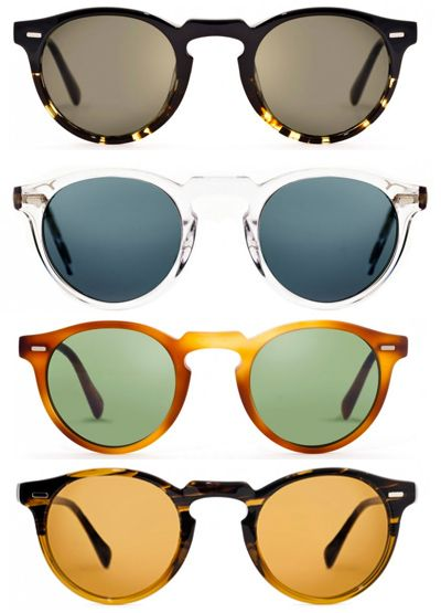 My only Oliver Peoples blew off my head on the G.G. Bridge in 1980.... I can only dream....