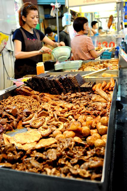 A favorite food of taiwanese people.  滷味