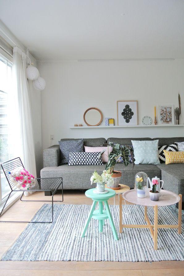 The fabulous home of a Dutch designer / blogger (via Bloglovin.com )