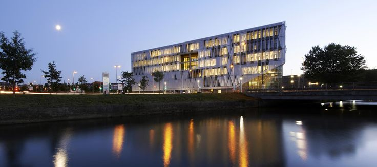 SDU University of Southern Denmark, Campus Kolding, designed by Henning Larsen Architects, have been awarded The International Architecture Award for 2015