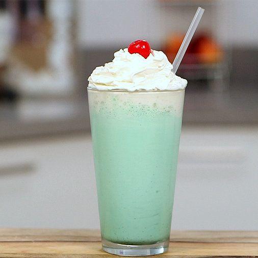 Hack a Minty McDonald's Shamrock Shake: Every year to celebrate St. Patrick's Day, McDonald's releases its beloved Shamrock Shake, a bright green vanilla-mint milkshake.