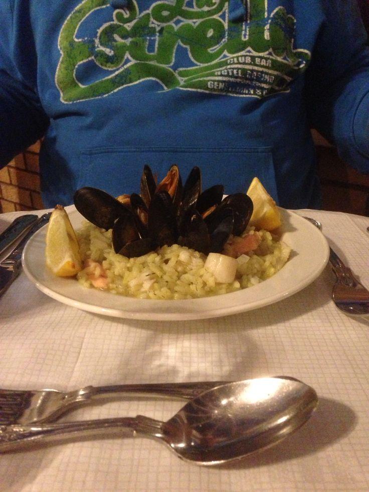 Mariners restaurant.