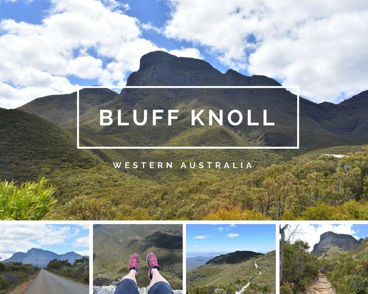 Climbing Bluff Knoll in Western Australia