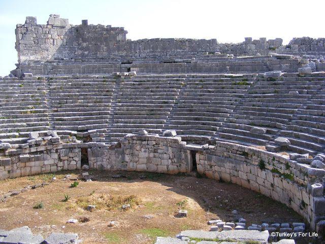 Roman Theatre At Xanthos, near #Fethiye, Southwest Turkey