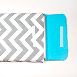 Tutorial for making a custom padded laptop sleeve.