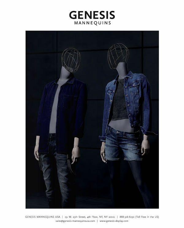 Heritage Collection in VMSD magazine | July 2015 | #vm #visualmerchandising #visualmerchandizing #mannequins
