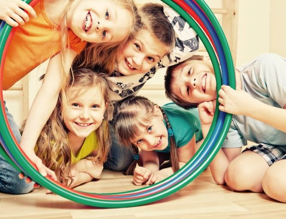 A hula hooping birthday party is perfect for the fun-loving child who loves to move, shake and dance with friends.