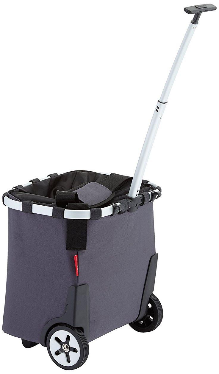 Reisenthel Carrycruiser - Trolley Shopping Bag with Wheels - 42.0 cm x 32.0 cm x 48.0 cm grey: Amazon.co.uk: Kitchen & Home
