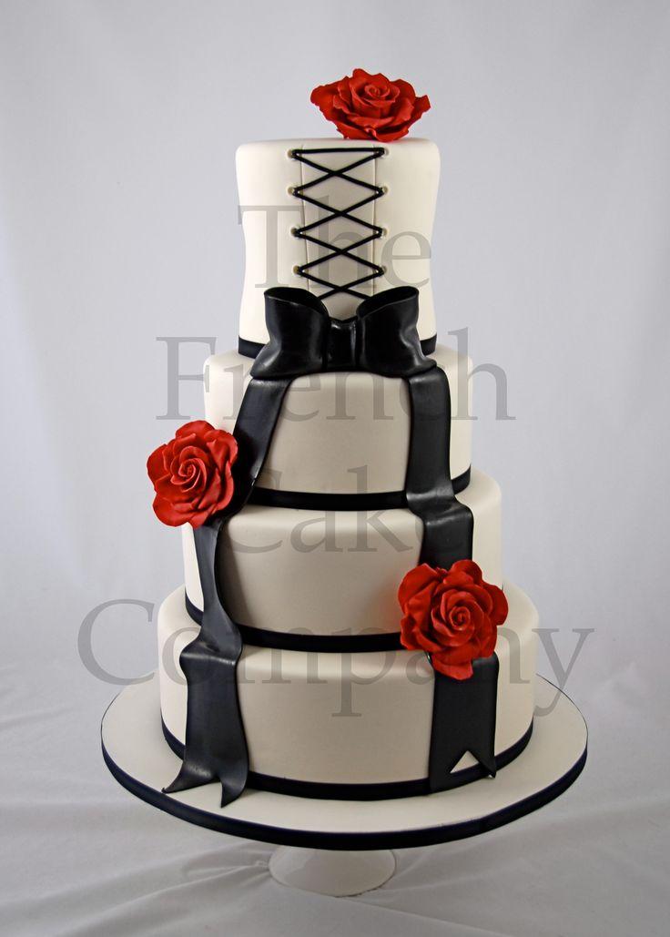 170 best wedding cakes images on pinterest french cake. Black Bedroom Furniture Sets. Home Design Ideas