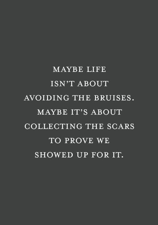Keep going. Push through.                                                                                                                                                                                 More