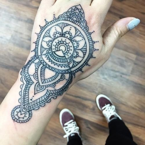 35 Amazing Mandala Tattoo Designs (18)