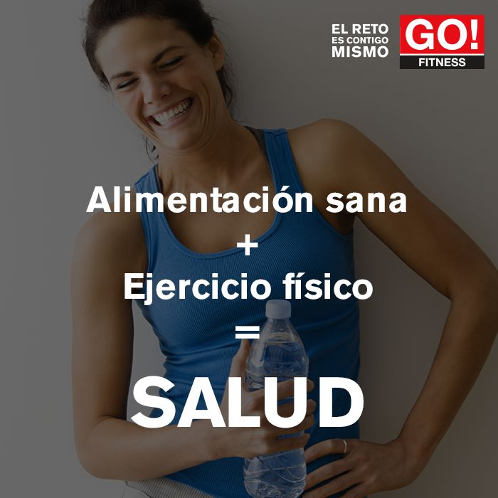 SALUD. #gofitness #clasesgo #ejercicio #gym #fit #fuerza #flexibilidad #reto #motivate