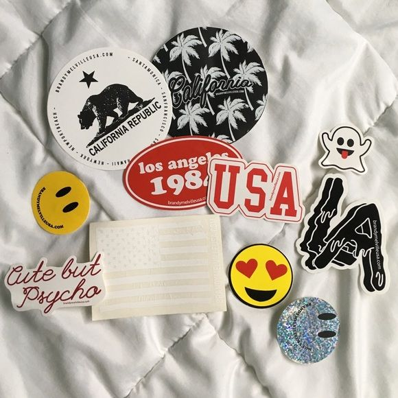 BRANDY MELVILLE STICKERS assorted Brandy Melville Other