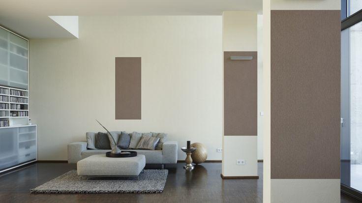 Schöner Wohnen Tapete 227911; simuliert auf der Wand House - schöner wohnen tapeten wohnzimmer