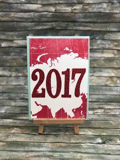 """Happy new year  Ja ich kann einen Kalender lesen. Echt. Aber es gibt mehr als nur einen! Morgen beginnt nach dem Chinesischen Kalender das neue Jahr - das Jahr des doofen Feueraffens ist dann END-LICH vorbei und die Zeit des Hahns beginnt. Ich bin heute Abend bei einer lieben Kollegin zur """"Sylvester"""" Feier eingeladen da war eine Karte natürlich Pflicht! Mal wieder eine schöne Gelegenheit für eine Panelkarte!   Die Materialliste ist schon feiern gegangen ... Schreibt mir wenn ihr Fragen habt…"""