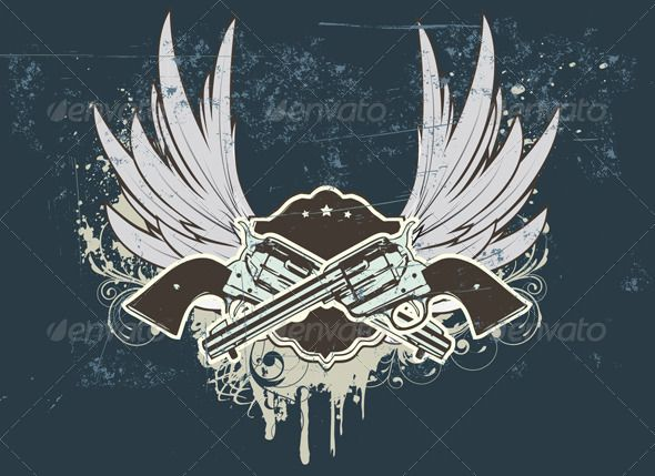 Cowboy sheld  #GraphicRiver         Vector illustration of Two cowboy revolver guns with shield on the grunge Background     Created: 6September12 GraphicsFilesIncluded: JPGImage #VectorEPS Layered: No MinimumAdobeCSVersion: CS Tags: art #background #blazonry #coatofarms #cool #design #dirty #element #funky #graphic #grunge #gun #handgun #heraldic #illustration #insignia #obsolete #old-fashioned #power #retro #shape #sheriff #shield #sign #star #style #symbol #vector #weapon #wing