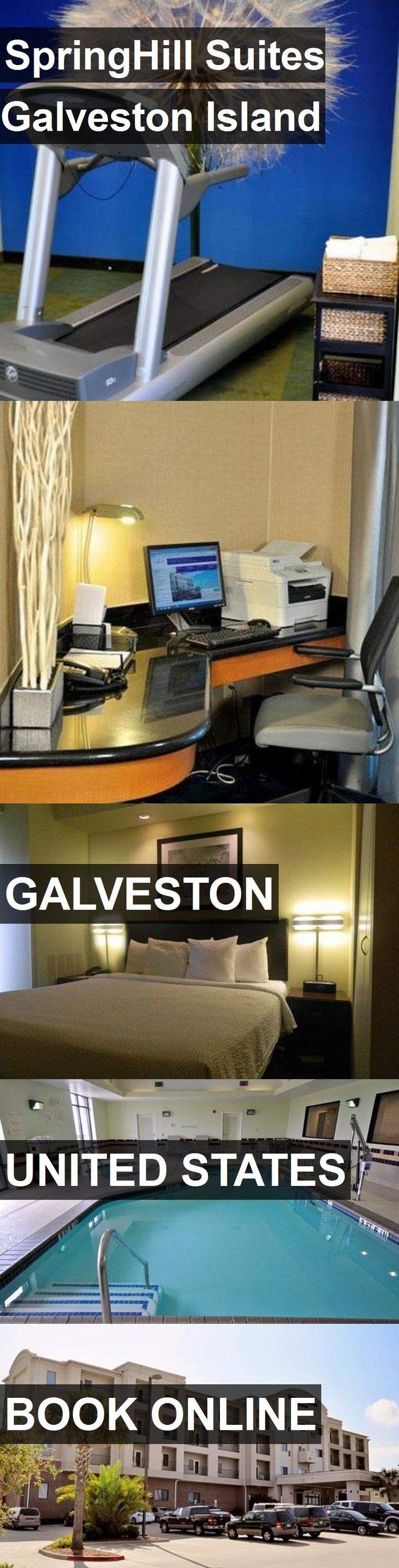 Hotel SpringHill Suites Galveston Island in Galveston, United States. For more information, photos, reviews and best prices please follow the link. #UnitedStates #Galveston #travel #vacation #hotel