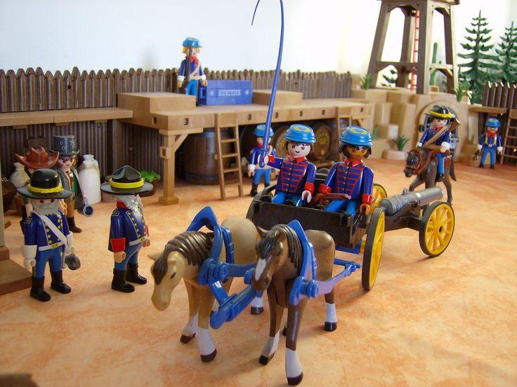 Fort Brave, diorama Playmobil