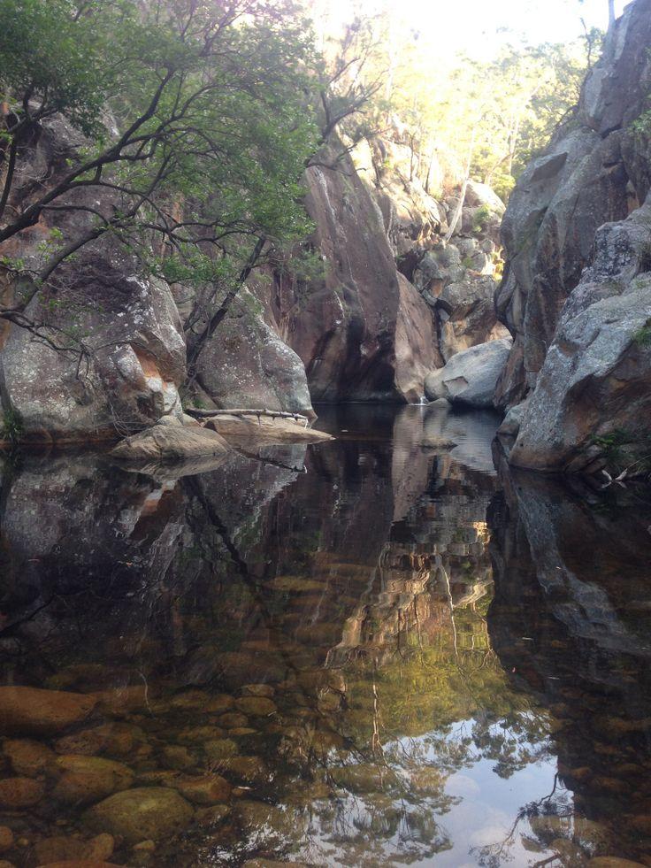 Mt Barney - Lower Portals