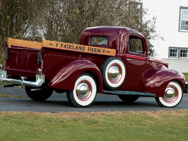 1940 Ford Pickup Truck any farm would be proud to have