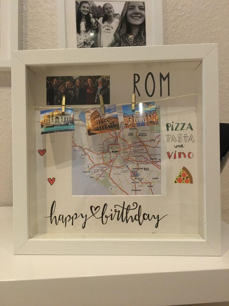 Gutschein Städtetrip Rom | Geschenke verpacken reise