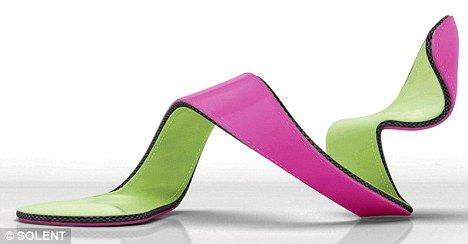 Julian Hakes- The Art Shoe 'The Mojito' - it is designed for functionality and to be worn!