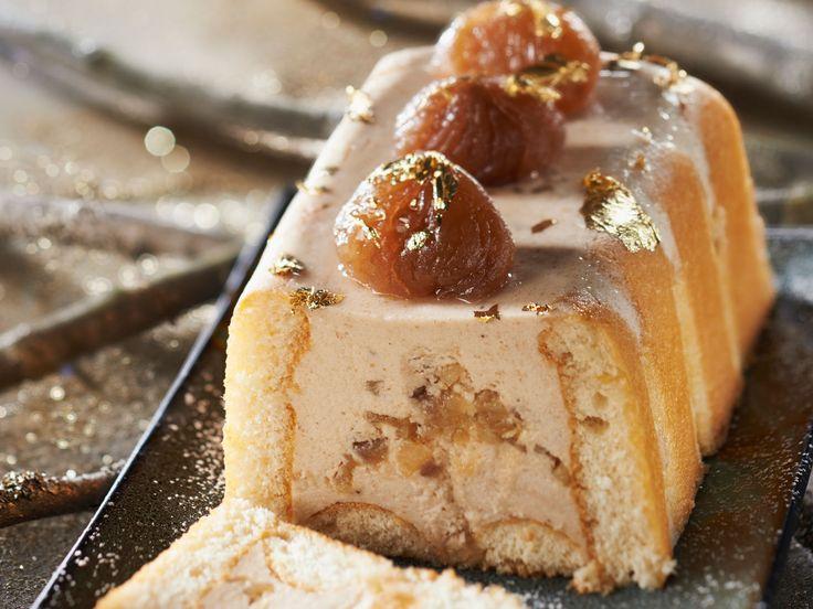 Découvrez la recette de la bûche de Noël légère aux marrons