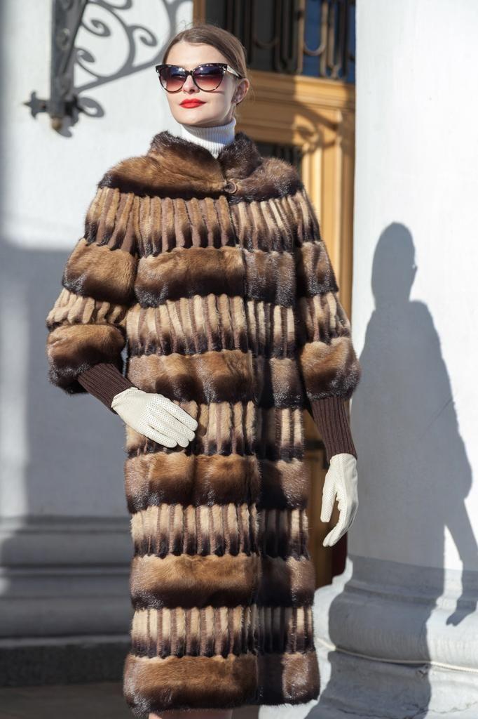 Пальто норка - 112Д