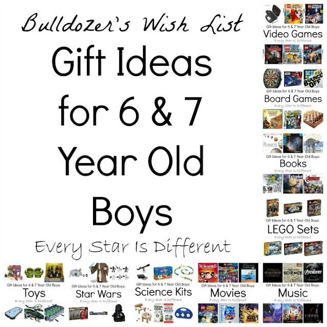 Ordinary 7 Year Old Boy Christmas Gifts Part - 13: Every Star Is Different: Gift Ideas For 6 And 7 Year Old Boys (Bulldozeru0027s