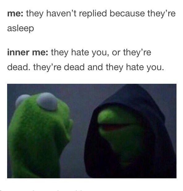 Dark Kermit meme