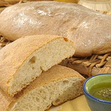 Panini Bread: King Arthur Flour. This has overnight starter, so make sure you have enough time.