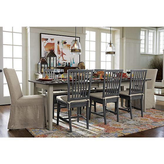 Pranzo II Vamelie Extension Dining Table From Crate And Barrel