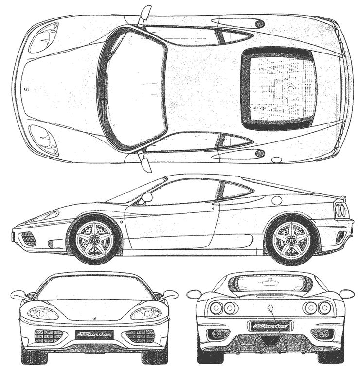 The Best Images About Car Blueprints On Pinterest Cars