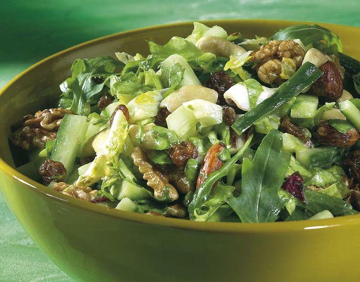 Groene gemengde salade