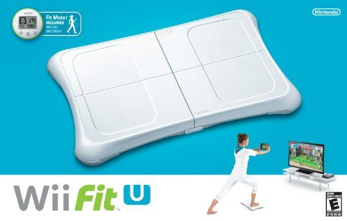 Wii Fit U W/Wii Balance Board Accessory And Fit Meter - Wii U, 2015 Amazon Top Rated Fitness Accessories #VideoGames