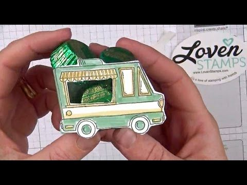 Finally! Directions for the Tasty Trucks Treat Box!   LovenStamps