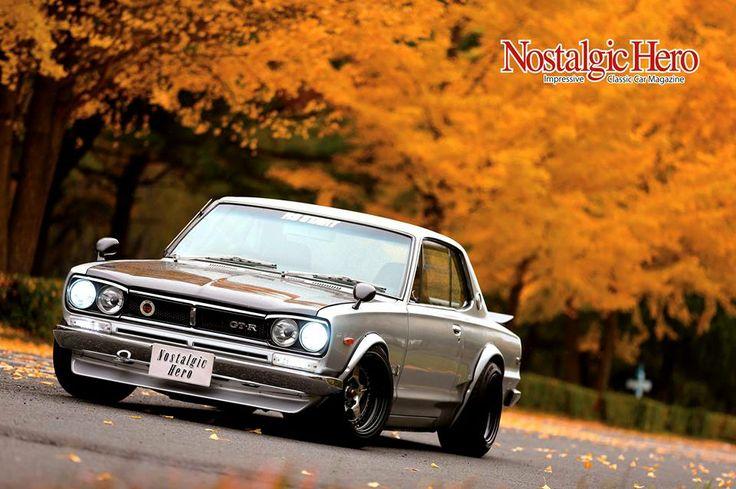 1971年式 日産 スカイラインHT 2000GT-R(KPGC10) 埼玉県のショップ「RSスタート」の代表、宮崎氏の愛車でショップデモカー。ドライカーボンの外装や、2.4lキットなどオリジナルのパーツで進化を続けている。