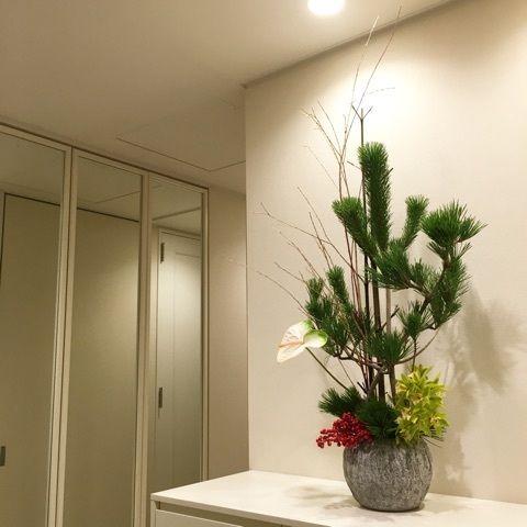 newyear arrangement About De Bloemen Winkel Work(港区 ブルームンウインクル 花のデザイン)