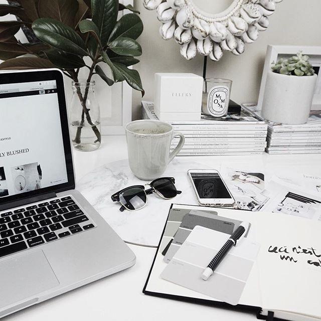 231 Best Desktop Styling Images On Pinterest Work Spaces