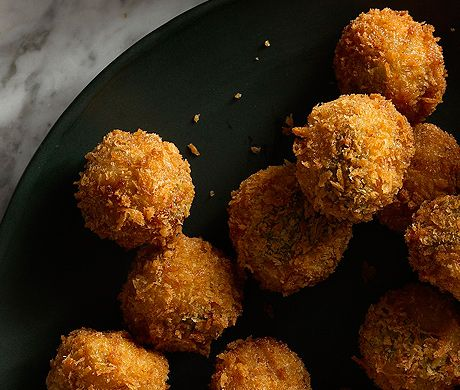 Ricotta and Sage Fried Meatballs | Recipe | Pork, Meatball recipes and ...