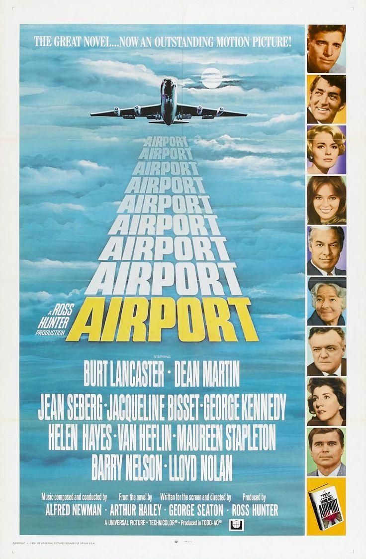 Airport Peliculas De Aviones Afiche De Cine Carteles De Cine