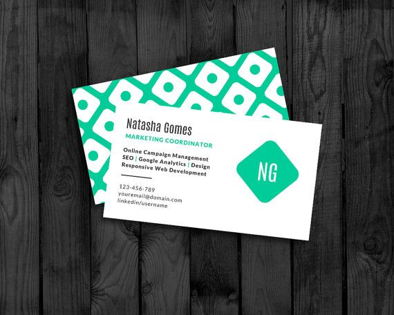 138 best microsoft word images on pinterest microsoft word diy business card template edit in word print at home download now reheart Gallery
