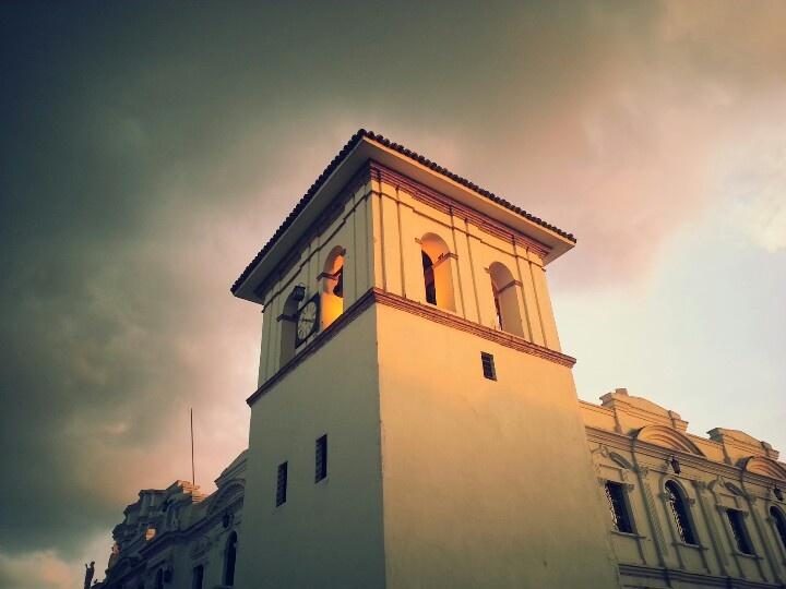 Nuestra hermosa torre del reloj