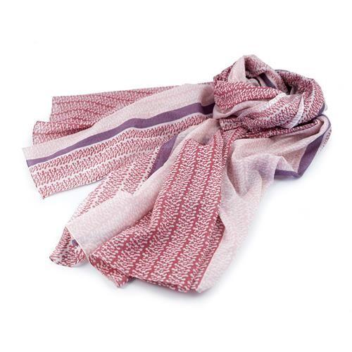SCIARPA PAREO JELLY ROSA - Graziosa sciarpa pareo stampata nei toni del rosa e del fucsia. Composizione: 100% cotone.