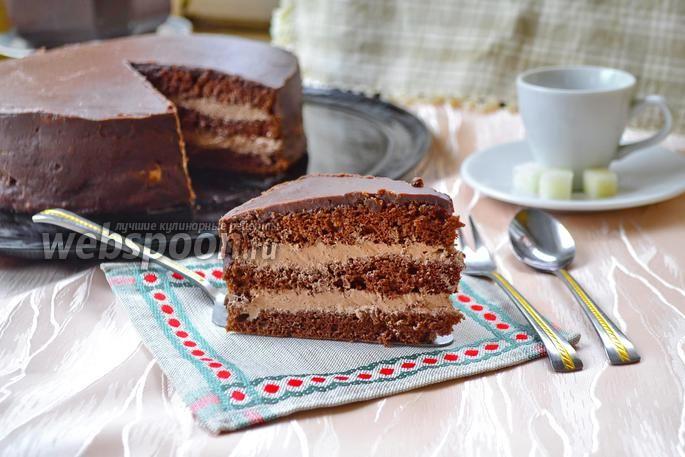Торт прага по госту с фото