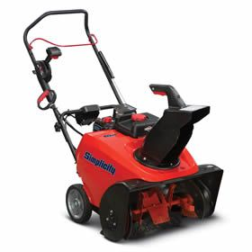 """Simplicity 922EXD (22"""") 205cc Deluxe Single Stage Snow Blower w/ Elec. Start & Snow Shredder Auger - Model 1696516"""