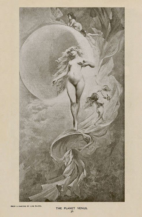 Le Prince Lointain: Luis Falero (1851-1896), La Planète Venus.