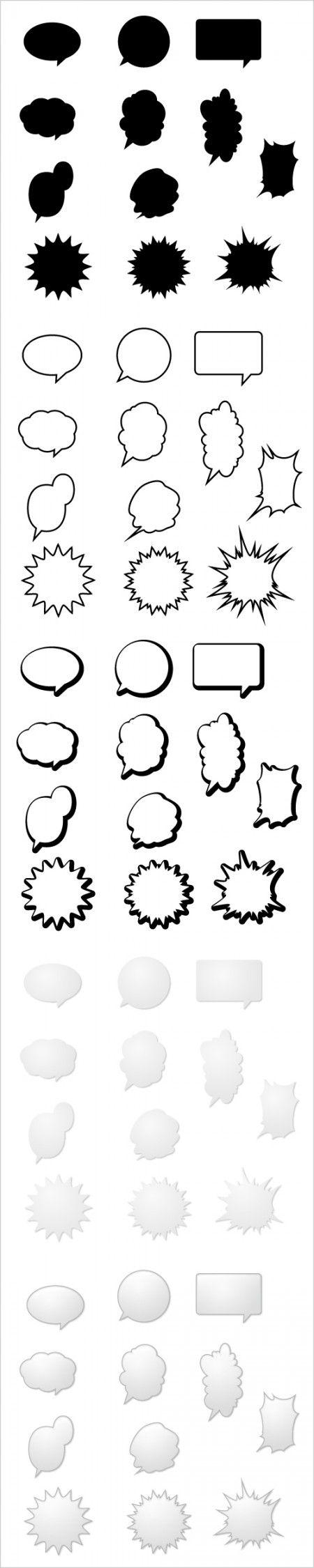 Dialog-bubbles